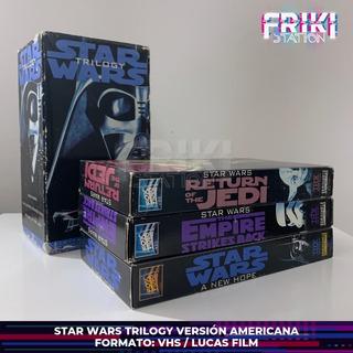 Star Wars Trilogy Vhs La Colección De La Trilogía Lucas Film