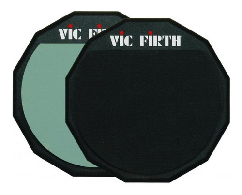 Imagen 1 de 10 de Vic Firth Pad6d Pad Doble Practica Bateria 6''
