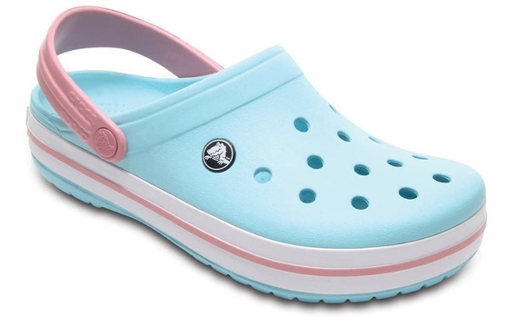 Crocs Crocband Clog K Ice Blue/white