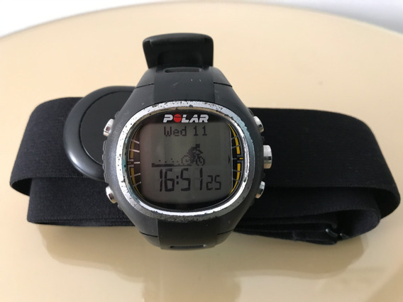 Monitor Cardíaco Para Corrida E Ciclismo Polar Cs300