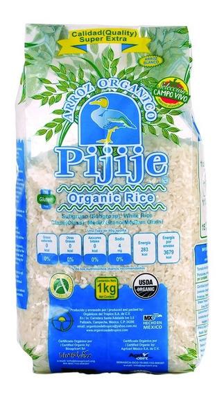 Arroz Blanco Orgánico Pijije 1kg Campo Vivo