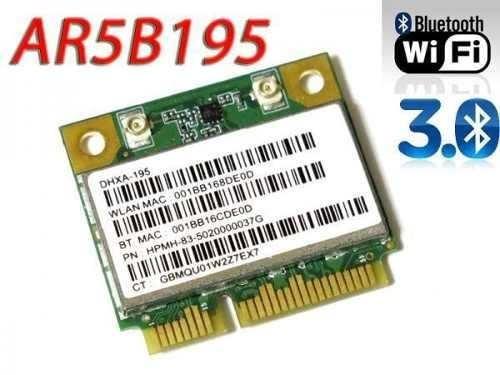 Placa Combo Wireless B G N + Bluetooth Ar5b195 Aw-nb037