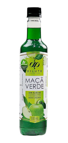Xarope Soda Italiana Maçã Verde Sem Açúcar Diet Dilute 500ml