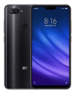 Celular Smartphone Xiaomi Mi 8 Lite 64gb 4 Ram Preto Lacrado