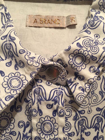 Camisa A Brand Feminina Floral Linda