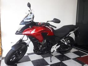 Honda Cb 500x 2015 Vermelha Tebi Motos