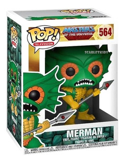 Funko Pop Merman 564 Original Pop Tv Masters Of The Universe