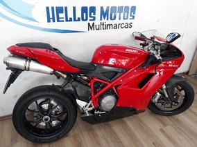 Hellos Motos Ducati 848 2008 Aceito Fin 36.x Cartao 1,6% Oa