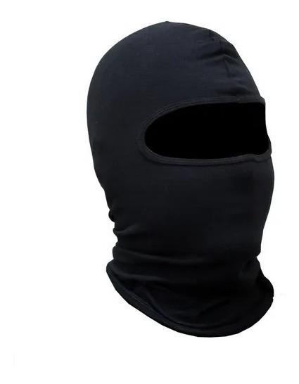 Touca Ninja Lycra 1 Furo Preta
