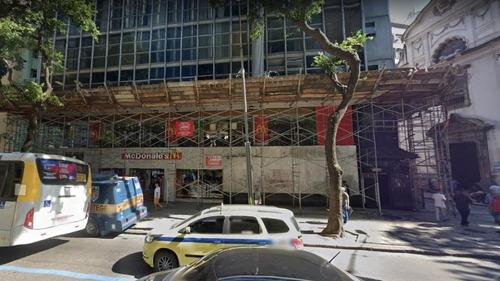 Imagem 1 de 5 de Sala Comercial No Centro Do Rio De Janeiro - Sa0754