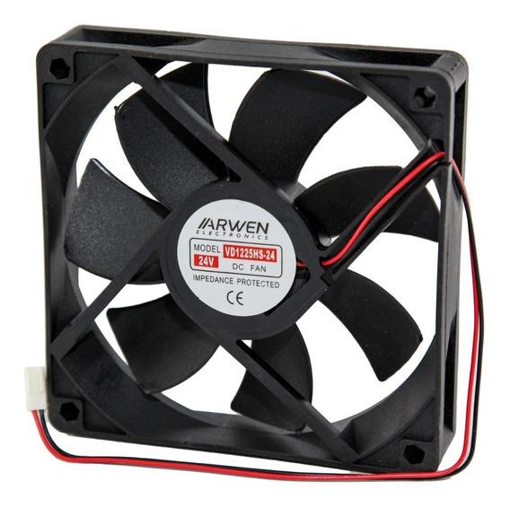 Cooler Fan 24v 4 Pug 120x120x25mm Molex Arwen 1225hs-24 Htec