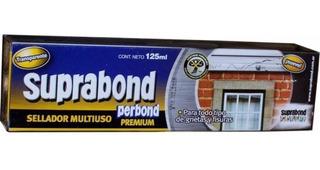 Sellador Adhesivo Pegamento Transparente Perbond Premium 125