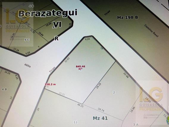 Terreno En Venta Alquiler Berazategui- Juan Maria Gutierrez