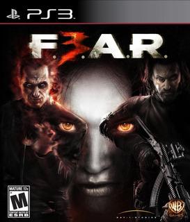 F.e.a.r. 3 Fear 3 Playstation 3 Fisico