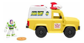 Toy Story 4 Imaginext Buzz Lightyear Con Pizza Truck