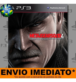 Ps3 Metal Gear Solid 4 - Envio Já | Psn Midia Digital Play 3