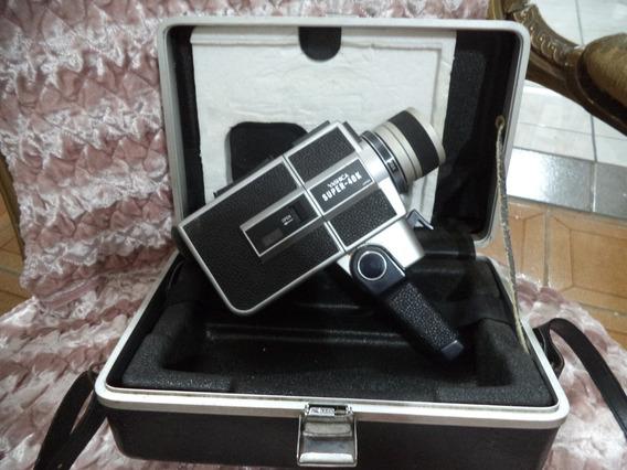 Filmadora Super 8 Yashika Antiga