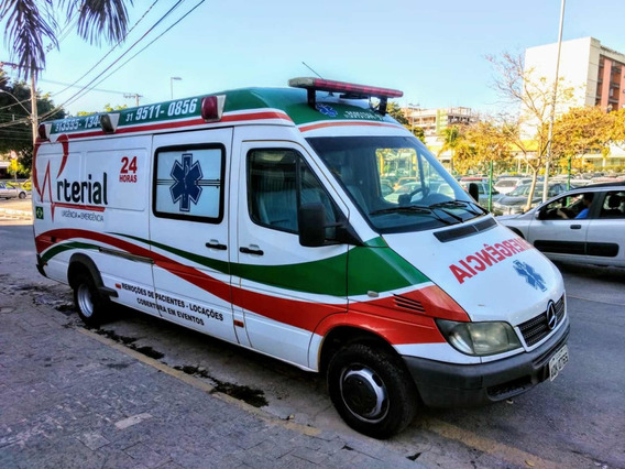 Ambulância Sprinter 413 Segundo Dono Teto Alto Alongada