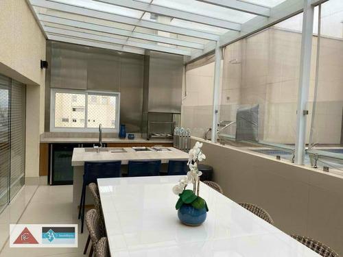 Imagem 1 de 14 de Cobertura Com 4 Dormitórios À Venda, 332 M² Por R$ 4.500.000,00 - Aclimação - São Paulo/sp - Co0339