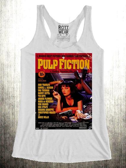 Pulp Fiction Afiche Blusa Dama Rott Wear Envío Gratis