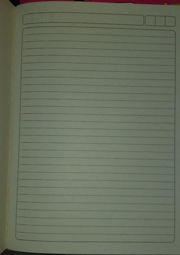 Libretas Cuadernos Escolares De Una Linea Doble