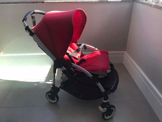 Carrinho De Bebê Bugaboo Bee 3 Vermelho