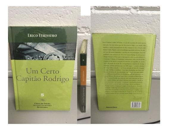 Livro Um Certo Capitão Rodrigo - Erico Verissimo - 207 Pag.