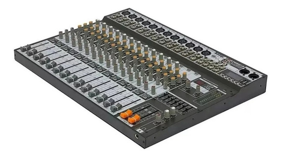 Mesa De Som Soundcraft Sx1602 Fx Usb Sx1602fx Garantia 1 Ano