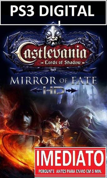 Castlevania Mirror Fate Hd +brinde Ps3 Psn - Midia Digital