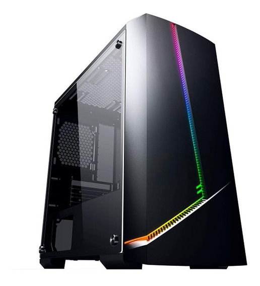 Pc Gamer I3 9100f- 8gb- Ssd 240gb- Hd 1tb- Rx 550 4gb - M78