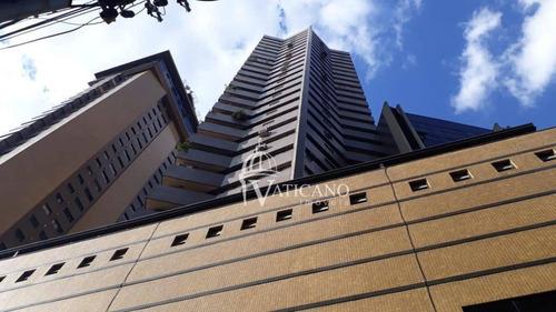 Sala Para Alugar, 56 M² Por R$ 1.650,00/mês - Champagnat - Curitiba/pr - Sa0033
