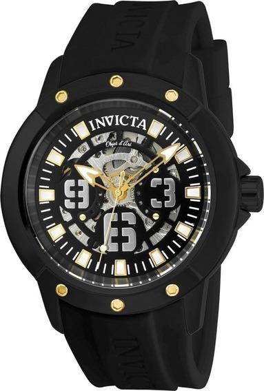 Invicta 22632 - Objet D Art Automatico Black Skeleton