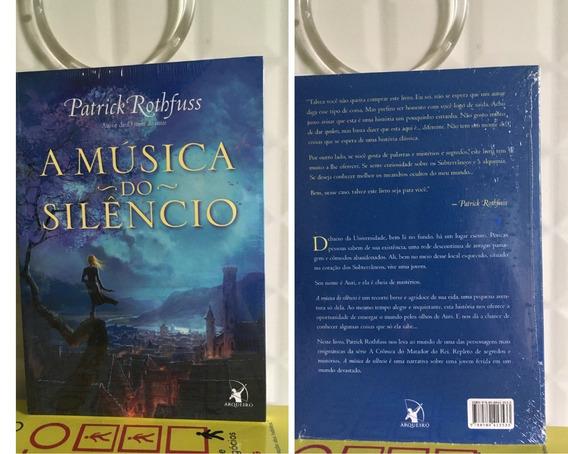 Livro A Música Do Silêncio - Patrick Rothfuss