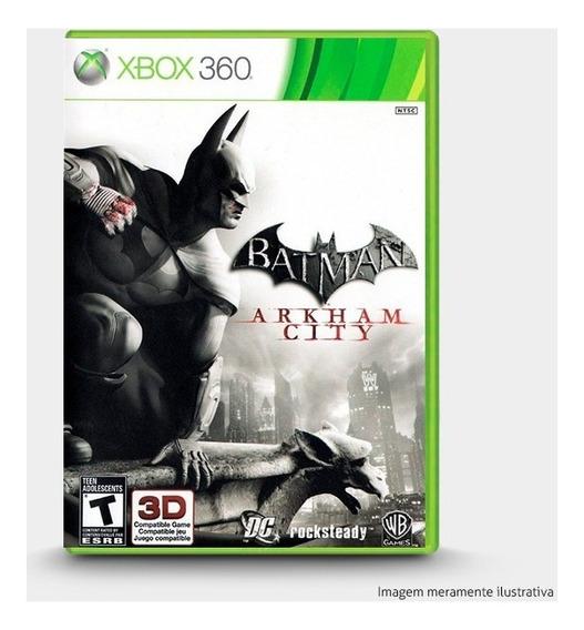 Batman Arkham City - Original Para Xbox 360 Novo
