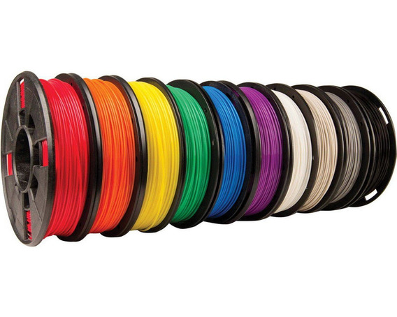 Filamento Makerbot 1.75mm 10 Colors (colorido) Pack C/ 10 (