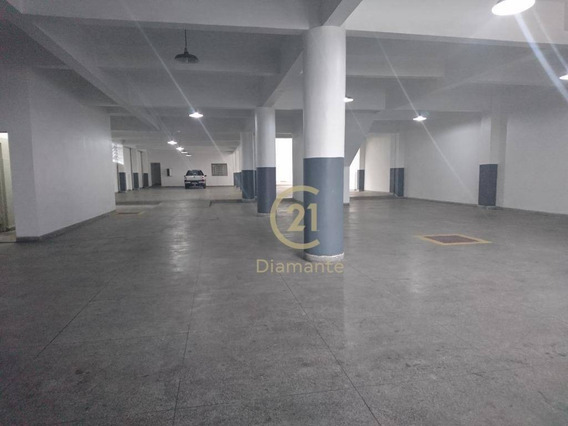 Galpão Para Alugar, 1500 M² Por R$ 20.000/mês - Vila Santa Catarina - São Paulo/sp - Ga0089