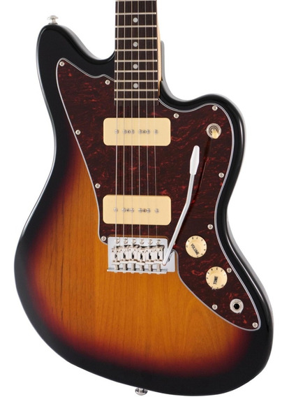 Guitarra Eléctrica Alabama Jazzmaster Jm-302 - Colores