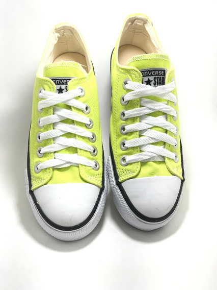 Tenis Converse All Star Ct Core Hi Verde Neon
