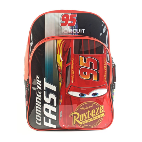 Mochila Cars Coming Up Fast Rojo 16