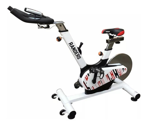 Bicicleta Fija Spinning Randers Arg-952 Con Bandas Elásticas