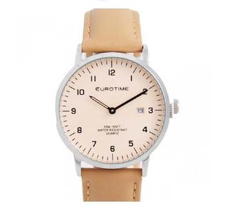 Reloj Eurotime Caballero Acero Sumergible Silencioso