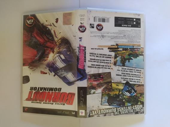 Burnout Dominator Psp Americano Original