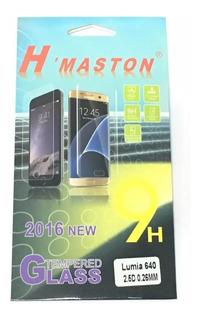 Kit Com 02 Peliculas De Vidro Lumia Nokia Dual 640 Dtv N640