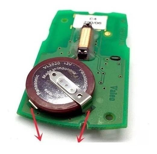 Bateria Vl2020 Panasonic 3v Original Japan Recarregável Bmw