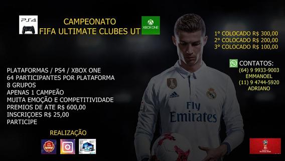 Inscrição 2°copa Fifa Ultimate Club