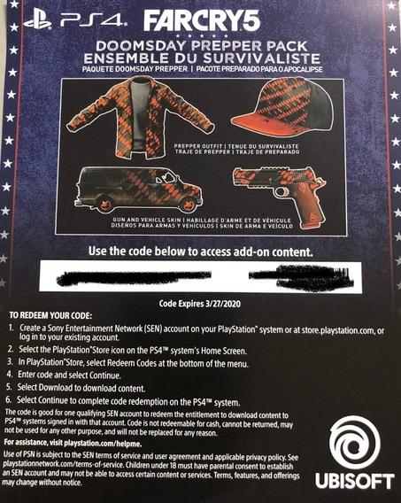 Dlc - Far Cry 5 - Ps4