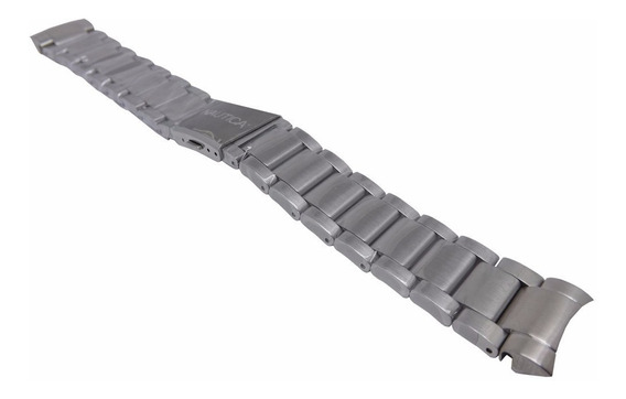 Pulseira Nautica A29512g N19508g Bfc Aço Metal 100% Original
