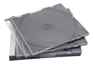 Pack 50 Cajas Acrilicas Para Cd Dvd 5 Mm