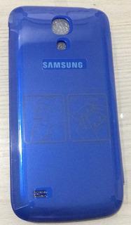 Capa De Flip Para Samsung Galaxy S4 Mini 100% Original Azul