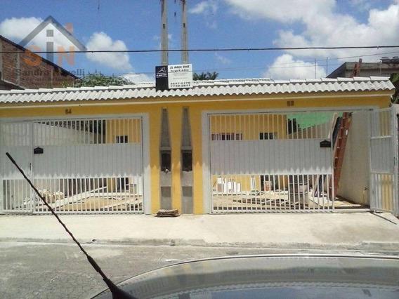 Casa Com 2 Dormitórios À Venda, 60 M² Por R$ 250.000 - Parque Residencial Marengo - Itaquaquecetuba/sp - Ca0053